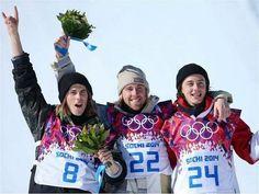 Stale Sandbech, Sage Kotsenburg and Mark McMorris | Sochi 2014 | Snowboard Slopestyle