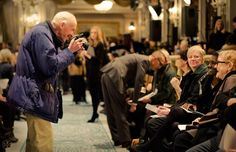 Bill Cunningham Front Row | The Tory Blog