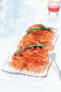 Appelsiini-rosmariinigraavattu lohi | K-ruoka #joulu