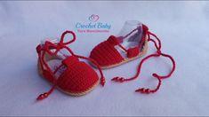 Alpargata IRACY de Crochê - Tamanho 09 cm - Crochet Baby Yara Nascimento Booties Crochet, Crochet Sole, Crochet Baby Booties, Crochet Slippers, Crochet Hats, Baby Boots, Baby Girl Shoes, Baby Slippers, Baby Sandals