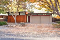 midcentury exterior by Klopf Architecture-An original Eichler house receives a modern addition while remaining true to the architects style.