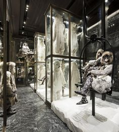 Moncler Flagship Store in Paris Opened Its Doors Yesterday