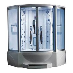 608 Steam Shower with Whirlpool Tub - Overstock™ Shopping - Great Deals on Ariel Steam Rooms