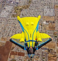Wingsuit, parachutisme et BASE jump: Swift 2   Écureuil