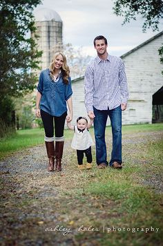 Fall Photography, Family Photography, 1 Year Old Photography, Ashley Hales Photography, Charlotte NC Photographer.