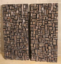 Wooden Wall Art Panels my works | acoustic panels, wood art and wooden blocks