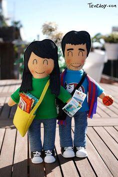 Muñecos personalizados de Temedoy