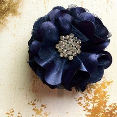 Xmas last minute giftTulle and satin flower by TutusChicBoutique, $18.00