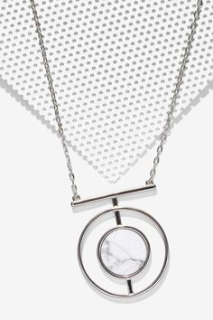 Serena Howlite Necklace - Necklaces |  | Newly Added | Jewelry