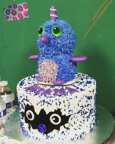 This Hatchimals Birthday Cake Was Crafted And Baked By A Friend For Her Daughters Party Today