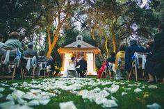 La boda rustic-chic de Esther y Carlos