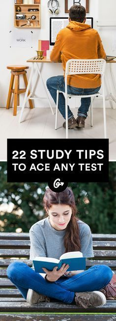 22 Science-Backed Study Tips to Ace a Test #college #school #test http://greatist.com/happiness/better-study-tips-test