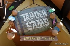One of my favorite Disneyland spots -- Trader Sam's -- might be coming to Disney World! Details here...