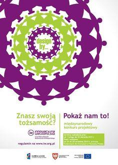 Designby poster, Polish design, polski dizajn, polskie wzornictwo, made in Poland. Pinned by #AdrianWerner