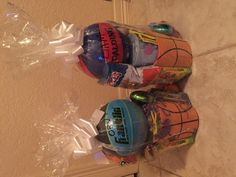 Niece and nephew easter giftbaskets simple diy gift basket easter basket for a boy negle Choice Image