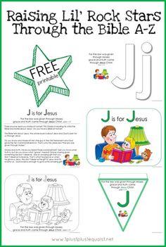 Free Letter J Bible Verse Printables