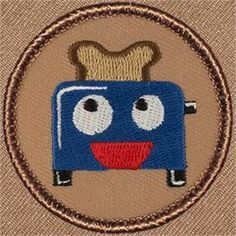 Happy Toaster Patrol Patch (#334)