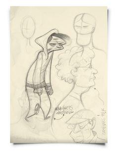 L.A.Sketchbook by Frank Josten, via Behance