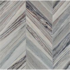 Palisandra Vein Cut Multi Finish Bosphorus Marble Mosaics 13 7/16x 13 7/16 - Marble System Inc.