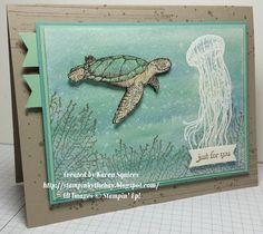 Stampin' By The Bay: From Land to Sea
