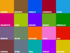 windows 8 colors - Google Search