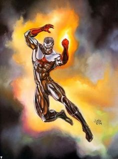 Captain Atom (Nathaniel Adam)