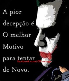 frases do coringa & da coringa quinn!! ... Hahaha Joker, Favorite Quotes, Best Quotes, Bruce Lee Quotes, New Soul, Joker Wallpapers, Love Is Everything, Inspirational Phrases, Light Of Life
