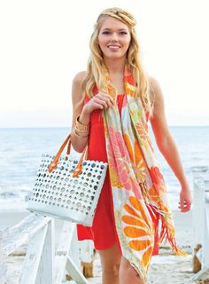 Tibi Soli Scarf..This is so me!!! #Spartina 449