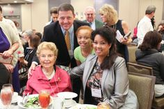 Phyllis Schlafly, Ed Martin, and Bridget VanMeans