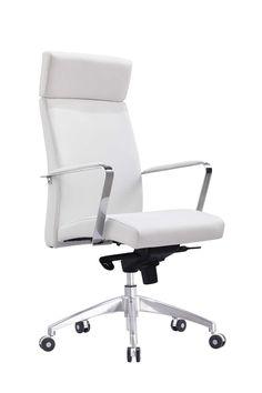 Whiteline Clemson Executive High Back office chair