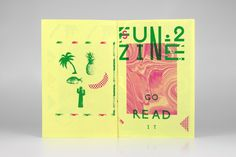 F U N Z I N E - Nº. 2 Summer Melancholy by MusaWorkLab , via Behance