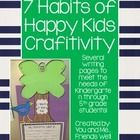 Students will enjoy making this 7 Habits of Happy Kids Craftivity. This unit includes all clipart as well as multiple different writing activities...