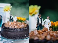 Star War Unique Wedding Cake | Oregon wedding photographer, Star Wars wedding, princess bride wedding