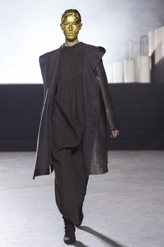 Rick Owens Ready To Wear Fall Winter 2015 Paris