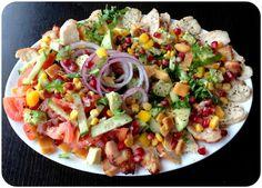 Kyllingsalat med tørka mango (Linda Stuhaug)