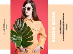 Stories Collective / Bloom Boom / Photography Michelle Tran / Styling Jana Bartolo / Make up Kristyan Low / Hair Liam James Moore / Model Erin Shea at IMG / Design Lily Dunlop