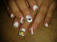 RASTANAILS!!! by R7777 - Nail Art Gallery nailartgallery.nailsmag.com by Nails Magazine www.nailsmag.com #nailart