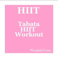 HIIT Cardio Workout - Tabata High Intensity Interval Training ---> https://www.youtube.com/watch?v=_Xm3GEDVmbM&index=17&list=PL5lPziO_t_ViN5Mu1b17pTIGHfHgXf_Bi