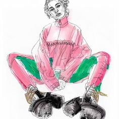 Textiles Sketchbook, Fashion Sketchbook, Art Sketchbook, Fashion Books, Fashion Art, Mode Portfolio Layout, Illustration Mode, Fashion Design Sketches, Art Drawings Sketches