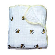adamant ant Multifunctional Gauze Newborns Receiving Blankets Bedding Infant Cotton 2 Layers Swaddle Towel Muslin Baby Blanket