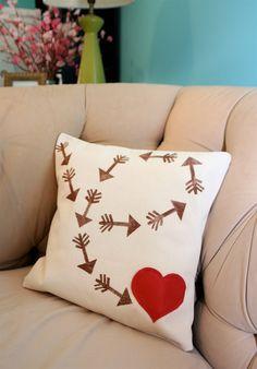 Valentine pillow  #valentines #pillows #qipillow #painrelief www.qipillow.com