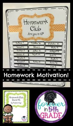 ideas to motivate students to complete homework