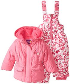 Pink Platinum Baby Girls' Camo Snowsuit, Strawberry, 18 Months Pink Platinum http://www.amazon.com/dp/B00K8PLJUM/ref=cm_sw_r_pi_dp_vBymwb1XM25EF
