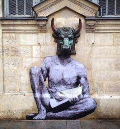 by Levalet in Paris (LP)
