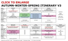 Disney World Autumn Winter Spring Itinerary v3-1 ~ #Nationals #Ashley <3