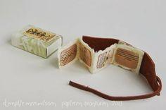 Papieren Avonturen: december box nineteen (collected marks) by Dymphie Meeuwissen