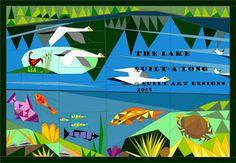 Quilt Art Designs: Lake QAL Weekly blog links