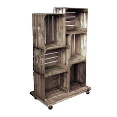 Fruit Crate Display Unit