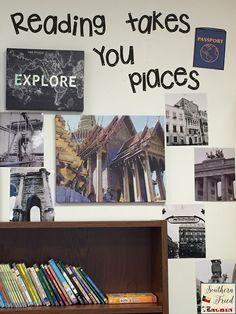 English Classroom Decor, History Classroom Decorations, Modern Classroom, Classroom Board, Classroom Decor Themes, Middle School Classroom, Classroom Design, Classroom Furniture, Classroom Setup
