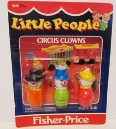 Vintage Fisher Price Little People Circus Jouets Fisher Price, Fisher Price Toys, Vintage Fisher Price, Old School Pizza, Old School Toys, School Fun, My Childhood Memories, Childhood Toys, Retro Toys